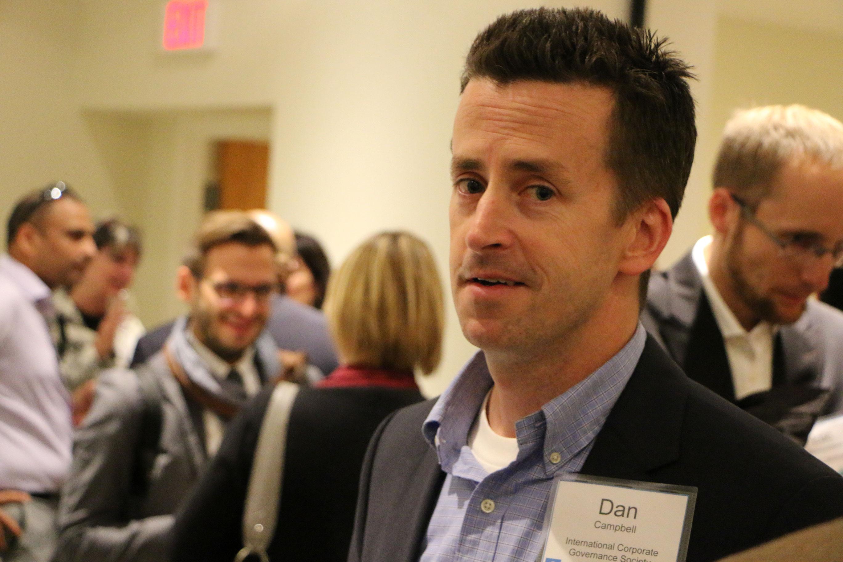 Executive Director Daniel Campbell