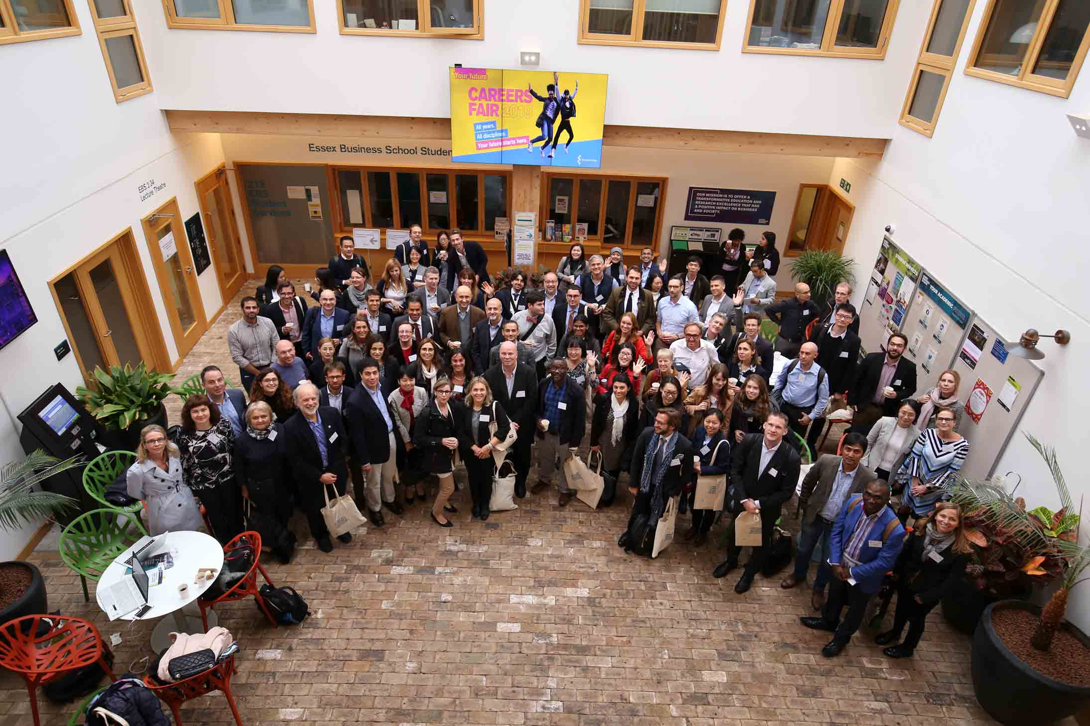5th Annual ICGS Conference participants at the University of Essex, Essex Business School.