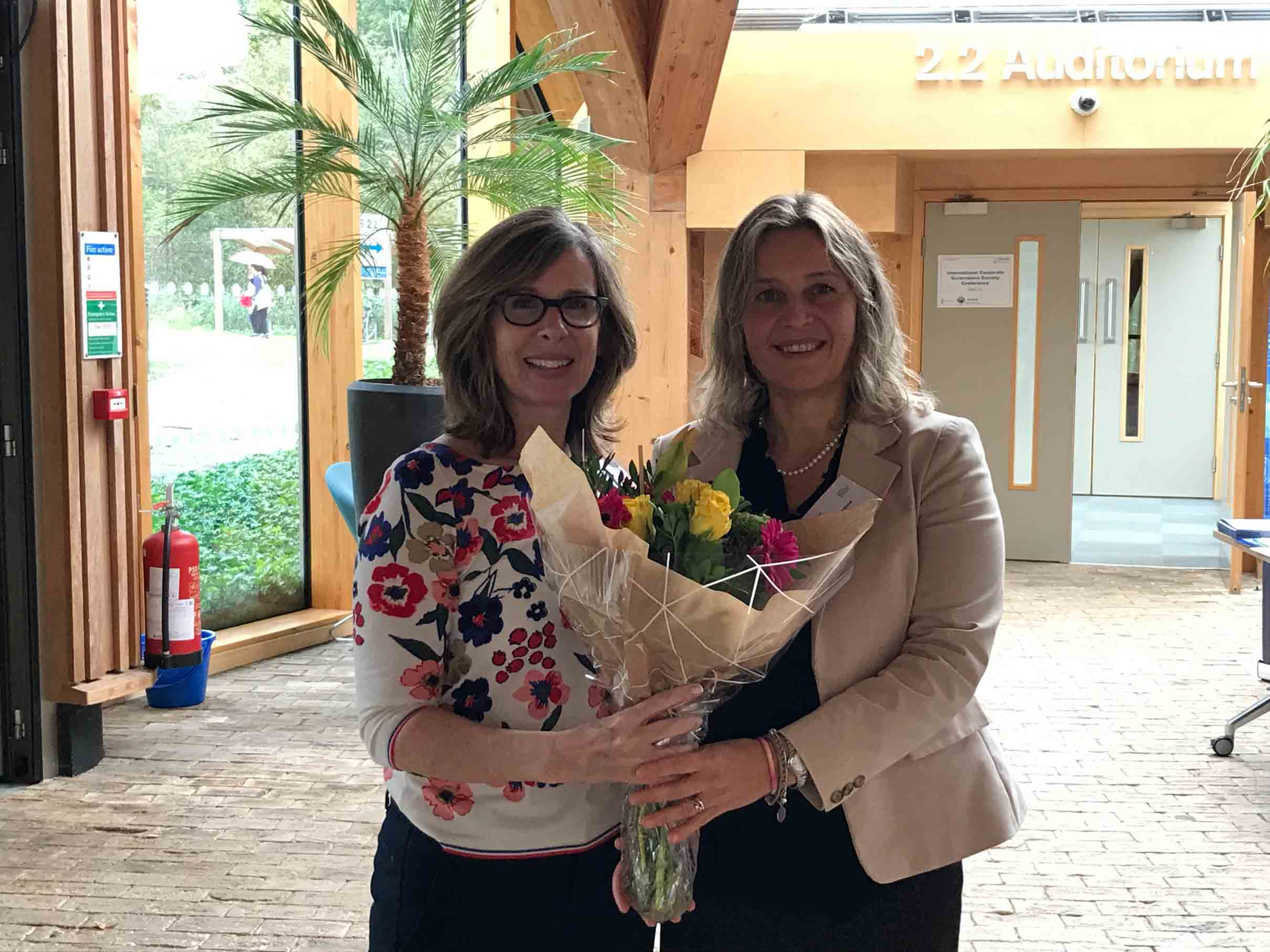ICGS thanks Cynthia Clark, Director, Harold Geneen Institute of Corporate Governance and Claudia Girardone, 2019 ICGS Conference Co-Chair for all of their hard work in oranizing and supporting the conference.